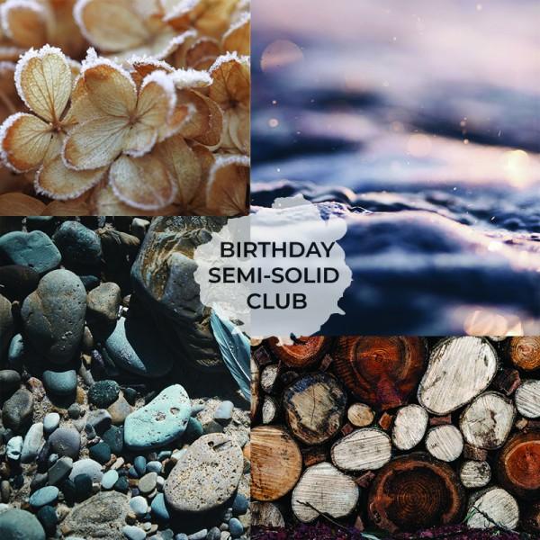 GarnStories Birthday Semi-Solid Club (1 Strang pro Monat)